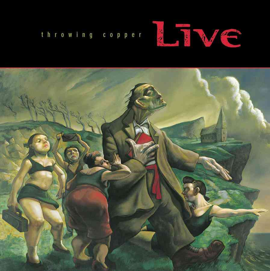 THROWING COPPER BY LIVE (CD)